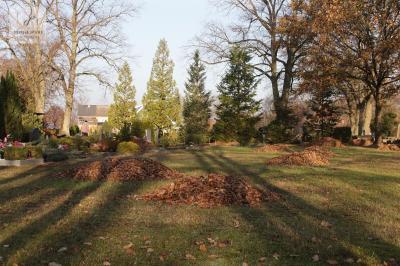 Foto zur Meldung: Herbstputz auf dem Sülstorfer Friedhof