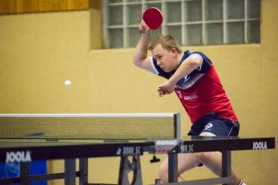 Holte trotz Verletzung 2 Einzelsiege: Florian Henke