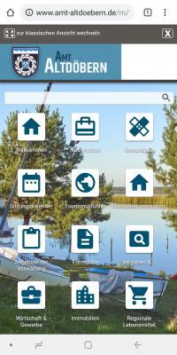 Mobile Ansicht www.amt-altdoebern.de