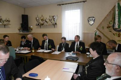 Vorschaubild zur Meldung: Präsidium des KSV zog Bilanz vor Gesamtvorstandsmitglieder