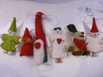 Vorschaubild zur Meldung: Weihnachtliche Filzhänger
