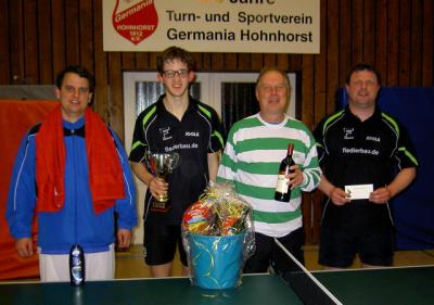 von links: Martin Hönig, Jan Schoenfelder, Andreas Richter, Oliver Waßmann