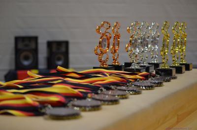 Medaillen und Pokale der DM-Freestyle 2018