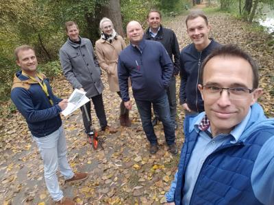 Foto zur Meldung: Fitness-Trail kann in Immenhausen über das kommunale Präventionsprojekt der BARMER in Kooperation mit dem Deutschen Turner-Bund e.V. entstehen