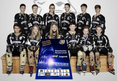 Vorschaubild zur Meldung: Deutsche Meisterschaft im Inlineskaterhockey
