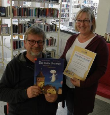 Foto zur Meldung: Erfolgreicher Vorlesetag in der Gemeindebibliothek