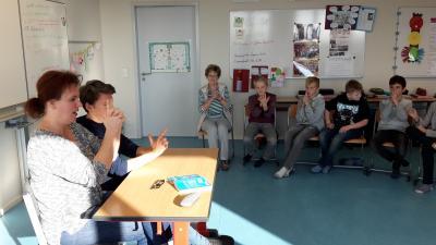 Foto zur Meldung: Bundesweiter Vorlesetag in der L.-A.-v.-Arnim-Grundschule Werbig