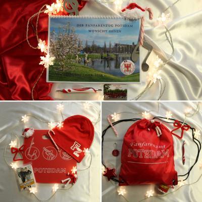 Foto zur Meldung: Fanfarenzug unterm Weihnachtsbaum