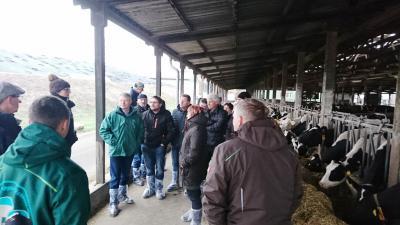 Besichtigung des Agrarbetriebs Damsdorf Wessels