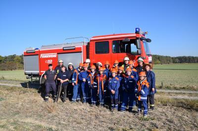 Foto zur Meldung: 24-Stunden-Dienst für die Hohenseefelder Jugendfeuerwehr