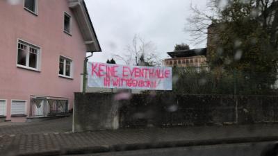 Vorschaubild zur Meldung: Den Betrieb einer Eventhalle in Wittgenborn verhindern