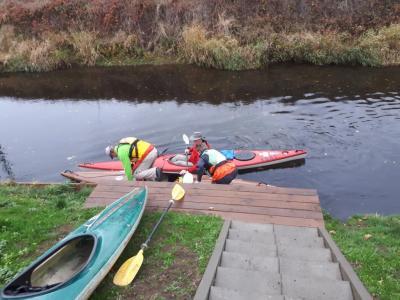 Foto zur Meldung: Neuer Kanuanleger an der Oker fertig