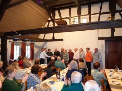 Verleihung an den ersten Bürgerpreisträger Nesen-Bau in 2017