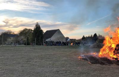 Foto zur Meldung: Borgisdorfer Herbstfeuer