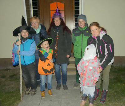 Foto zur Meldung: Halloweengeister in Urlaub