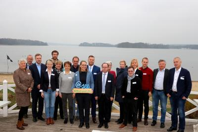 1. @-see-Botschafter-Treffen mit den Botschaftern, Bürgermeistern und Amtsdirektoren der Region