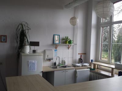 Foto zur Meldung: Neuer Glanz im Schülercafé der Otto-Unverdorben-Oberschule
