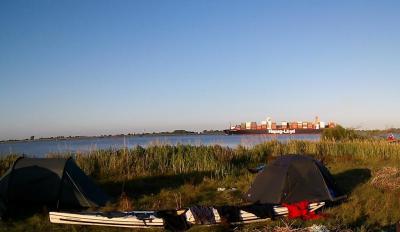 """Foto zur Meldung: Kanuten wehren sich gegen Fahr- und Anlandeverbot an der Unterelbe  Landes-Kanu-Verband nimmt Stellung zum geplanten Naturschutzgebiet """"Elbe und Inseln"""""""