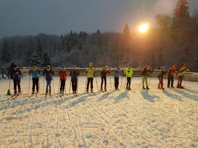 Vorschaubild zur Meldung: Erstes Schneetraining