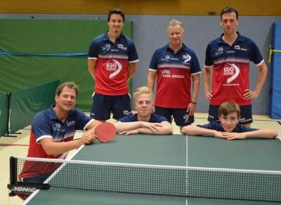Team des WEs: Unsere 2. Herrenmannschaft