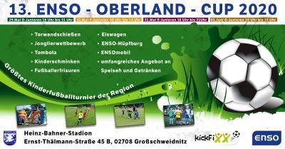 Vorschaubild zur Meldung: 13. ENSO-Oberland-Cup F + E-Junioren ausgebucht