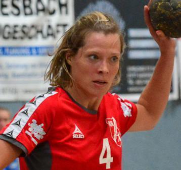 HSG Spielerin Mareike Zetzmann. Foto: Martens