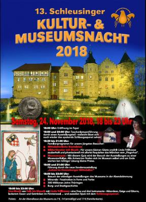 Plakat Museumsnacht 2018