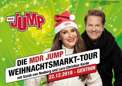 Vorschaubild zur Meldung: MDR JUMP Weihnachtsmarkt-Tour kommt auf den Genthiner Weihnachtsmarkt
