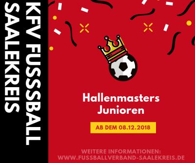Plakat Hallenmasters Junioren
