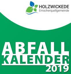 Foto zur Meldung: Abfallkalender 2019 werden zugestellt