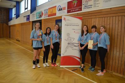 """Foto zur Meldung: """"Jugend trainiert"""" Volleyball WK III m+w 27.11.2018 in Lübbenau"""