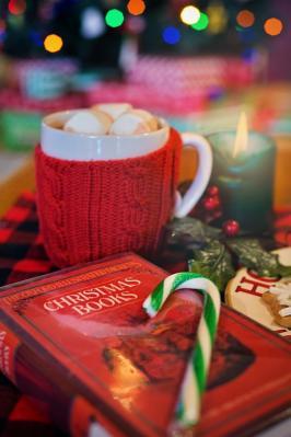 Foto zur Meldung: LESEFÖRDERUNG - Adventgeschichten in der Hausaufgabenhilfe