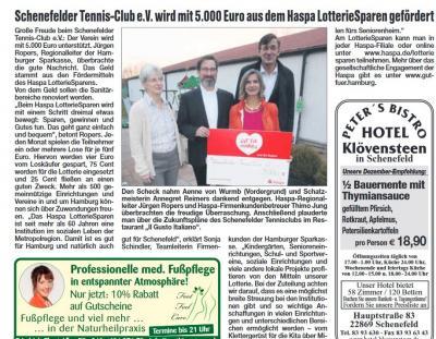 Foto zur Meldung: STC erhält 5.000€ aus dem HASPA Lotteriesparen