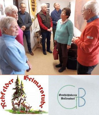 Foto zur Meldung: Heimatstube empfängt Geschichtskreis Bollensdorf