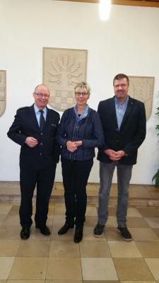 Foto zur Meldung: Besuch des neuen Leiters der Kreispolizeibehörde Unna