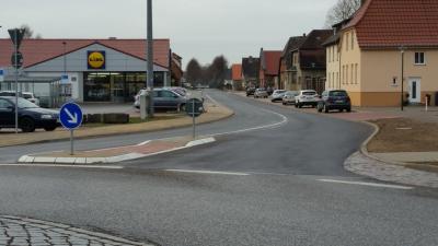 Vorschaubild zur Meldung: L071 OD Neustadt-Glewe (Schweriner Straße)