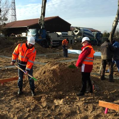 Foto zu Meldung: Bauen im Rehfelder Zentrum