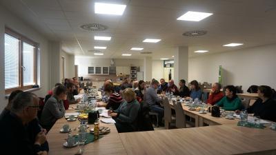 Foto zur Meldung: Ökostammtisch 2018 in Vetschau