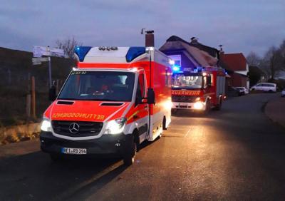 Vorschaubild zur Meldung: Einsatz: Tragehilfe für den Rettungsdienst durch unwegsames Gelände