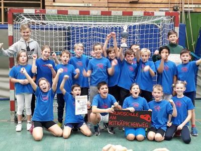 Vorschaubild zur Meldung: Handball-Stadtmeisterschaften der 4. Klassen am SZ Nord