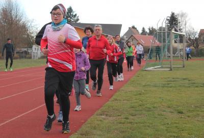 Foto zur Meldung: 2. Paarlauf wurde bei gutem Wetter nachgeholt