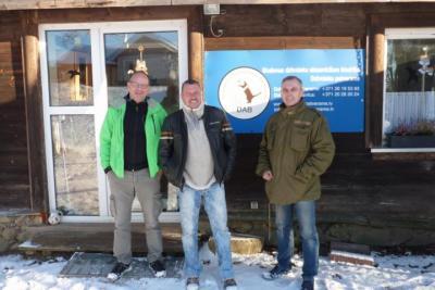 Vorschaubild zur Meldung: Tierheim-Besuch in Madona, Lettland