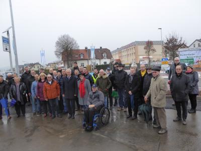 Vorschaubild zur Meldung: Stadt Wächtersbach: Kreisel eingeweiht