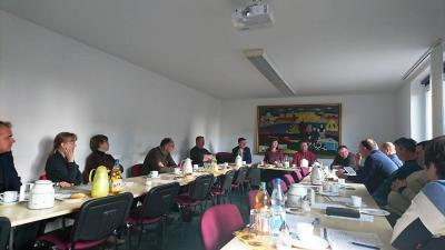 Foto zur Meldung: Letzte Vorstandssitzung 2018