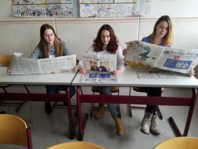 Zeitungsprojekt FOW17