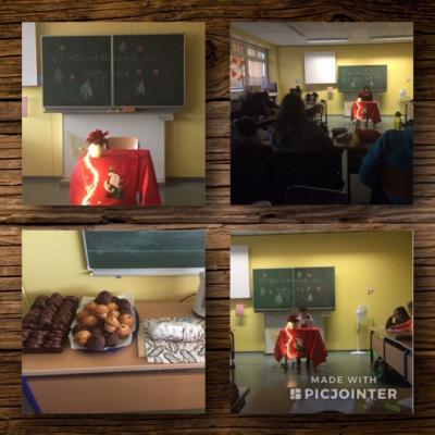 Vorschaubild zur Meldung: Klassenentscheid beim Vorlesenachmittag der 6d