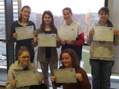 Foto zur Meldung: Delf-Diplome