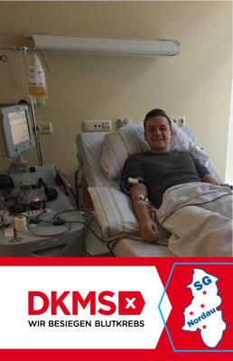 Foto zur Meldung: Stammzellenspender in der SG Nordau gefunden