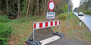 Vorschaubild zur Meldung: Sperrung Radweg am Sinzig