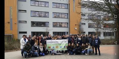 Foto zur Meldung: Erasmus+: internationaler Besuch an der IGS